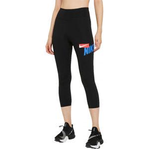 Nike ONE CROPPED GRAPHIC  M - Dámské sportovní legíny