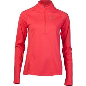 Nike TOP CORE HZ MID W červená M - Dámský běžecký top