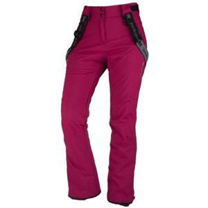 Northfinder LOXLEYNA vínová S - Dámské lyžařské kalhoty