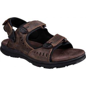 Numero Uno STRIKER hnědá 45 - Pánské sandály