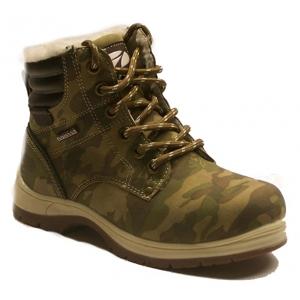 Numero Uno CAMEL ARMY KIDS tmavě zelená 35 - Dětská zimní obuv