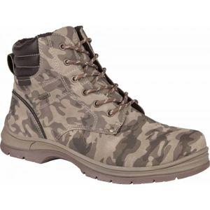 Numero Uno CAMEL ARMY M béžová 45 - Pánská zimní obuv