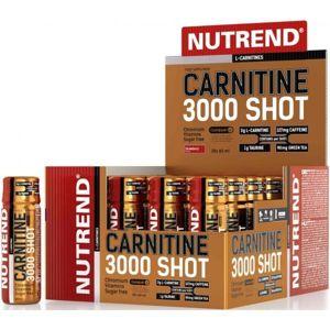 Nutrend CARNITINE 3000 SHOT JAHODA  NS - L -carnitine