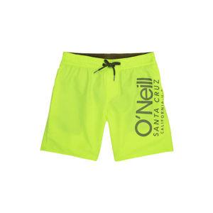 O'Neill PB CALI SHORTS žlutá 164 - Chlapecké šortky do vody