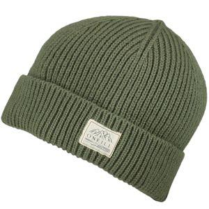 O'Neill BM BOUNCER WOOL MIX BEANIE zelená 0 - Pánská zimní čepice