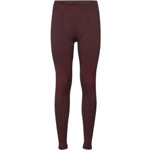 Odlo SUW WOMEN'S BOTTOM PERFORMANCE WARM červená M - Dámské funkční kalhoty