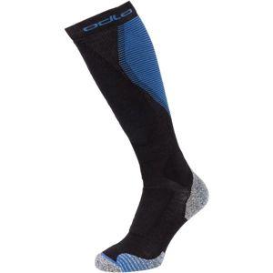 Odlo SOCKS OVER THE CALF CERAMIWARM PRO šedá 39-41 - Dlouhé ponožky