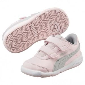 Puma STEPFLEEX 2 SL V INF růžová 5 - Dětská vycházková obuv