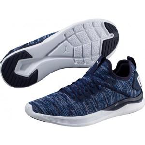 Puma IGNITE FLASH EVOKNIT modrá 10.5 - Pánská volnočasová obuv