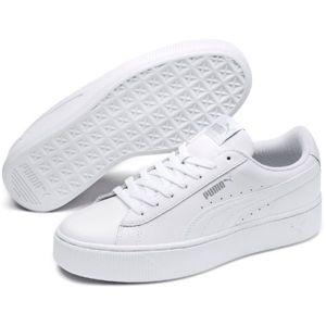 Puma VIKKY STACKED L bílá 5.5 - Dámské vycházkové boty