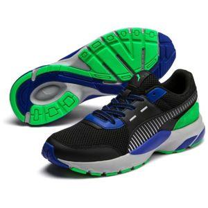 Puma FUTURE RUNNER PREMIUM černá 9 - Pánská volnočasová obuv