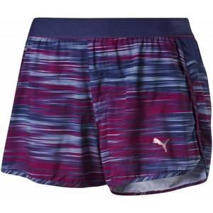 Puma PR CORE 3 SHORT W fialová S - Sportovní dámské kraťasy