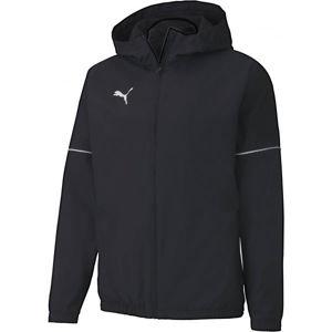 Puma TEAM GOAL RAIN JACKET černá XL - Pánská sportovní bunda
