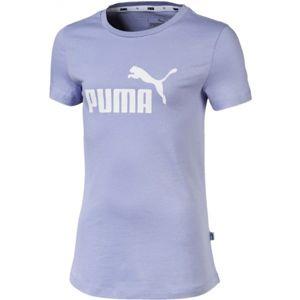 Puma SS TEE G fialová 128 - Dívčí tričko