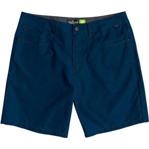 Quiksilver NELSON SURFWASH AMPHIBIAN 18 tmavě modrá 36 - Pánské módní/koupací šortky