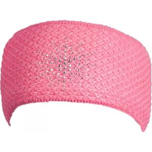 R-JET FASHION EXCLUSIV růžová UNI - Dámská pletená čelenka