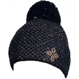 R-JET UNI SPORT EXLUSIV FASHION černá UNI - Dámská fashion čepice