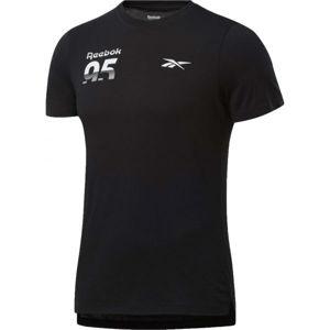 Reebok MYT SS GRAPHIC TEE  2XL - Pánské tričko