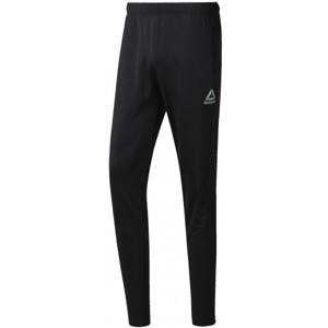 Reebok WORKOUT READY STACKED LOGO TRACKSTER PANT černá L - Pánské sportovní kalhoty