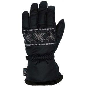 Rossignol W DIVA IMPR G černá XL - Dámské lyžařské rukavice