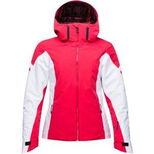 Rossignol W COURSE SHINY červená L - Dámská lyžařská bunda