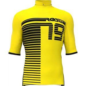 Rosti XC žlutá XL - Pánský cyklistický dres