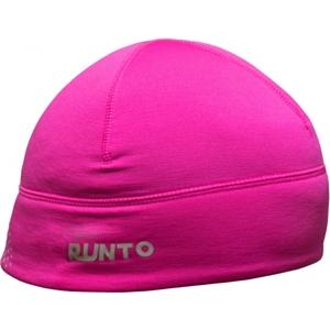 Runto SCOUT růžová UNI - Běžecká elastická čepice