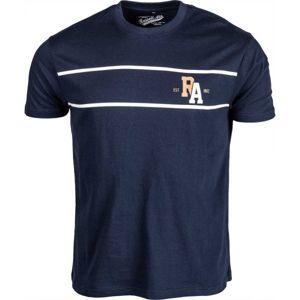 Russell Athletic PÁNSKÉ TRIKO tmavě modrá L - Pánské tričko