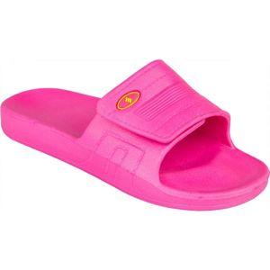 Salmiro ZENIKA růžová 32 - Dětské pantofle