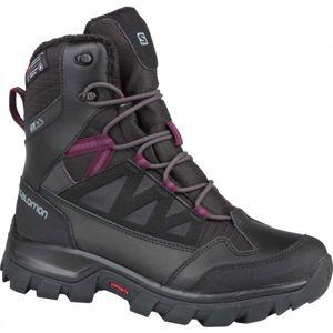Salomon CHALTEN TS CSWP W černá 4.5 - Dámská zimní obuv