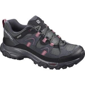 Salomon FORTALEZA GTX W šedá 7 - Dámská outdoorová obuv