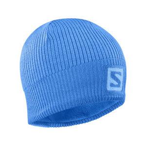 Salomon LOGO BEANIE ASHLEY modrá UNI - Zimní čepice
