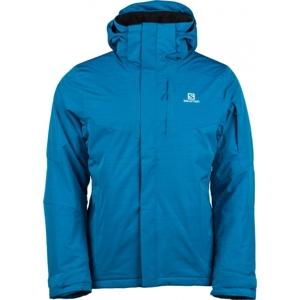 Salomon STORMSPOTTER JKT M modrá XL - Pánská zimní bunda