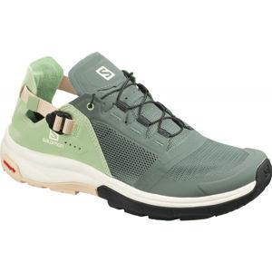 Salomon TECH AMPHIB 4 W zelená 6.5 - Dámské sportovní boty