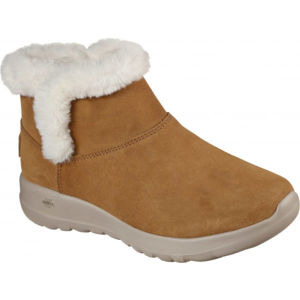 Skechers ON-THE-GO JOY BUNDLE UP BRW  40 - Dámské polokozačky