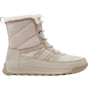 Sorel WHITNEY II SHORT LACE FU červená 7.5 - Dámská zimní obuv