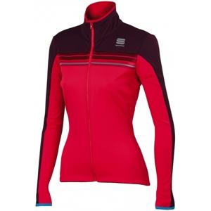Sportful ALLURE SOFTSHEL W JCK červená S - Dámská bunda
