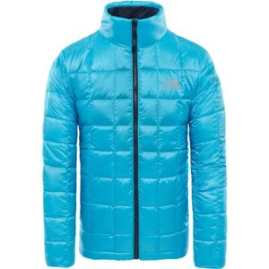 The North Face KABRU DOWN JACKET M modrá M - Pánská zateplená bunda