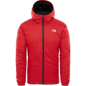 The North Face QUEST INSULATED JACKET M červená S - Pánská zateplená bunda