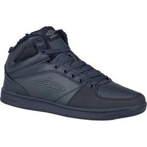 Umbro KINGSTON MID tmavě modrá 8.5 - Pánská zimní obuv