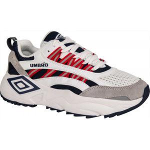 Umbro NEPTUNE LE bílá 9.5 - Pánská volnočasová obuv