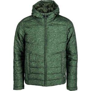 Umbro THE HUMPHERY - TECHNICAL JACKET tmavě zelená L - Pánská bunda