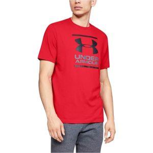 Under Armour GL FOUNDATION SS T červená XL - Pánské tričko