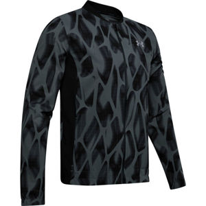 Under Armour LAUNCH 2.0 PRINTED JACKET šedá L - Pánská bunda