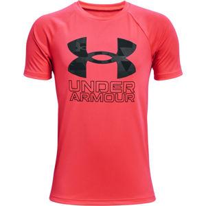 Under Armour TECH HYBRID PRT FILL  S - Chlapecké triko
