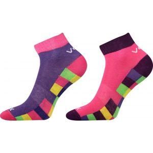 Voxx KOSTÍK 2 PACK růžová 17-19 - Dětské ponožky