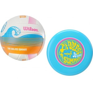 Wilson ENDLS SUMR VBALL AIR DISC KIT žlutá NS - Volejbalový set