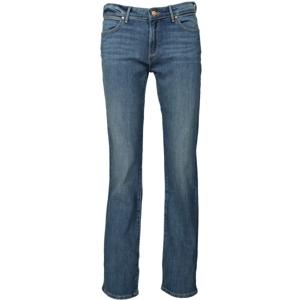 Wrangler STRAIGHT INTO THE GROOVE tmavě modrá 30/34 - Dámské kalhoty
